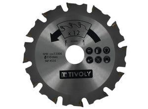 1 disque à sculpter Ø115 ale 22,2