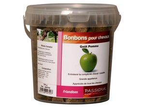 Bonbons pour chevaux pomme