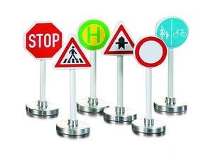 6 Signaux routiers modèles