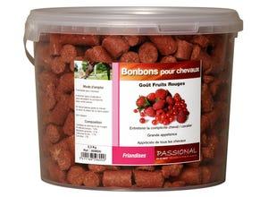 Bonbons pour chevaux fruits rouges 2,3kg
