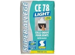 Colle-enduit joint allégé CE 78 Light 2H 15 kg