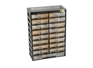 Casier plastique 33 tiroirs + 21 séparateurs VarioPlus Basic