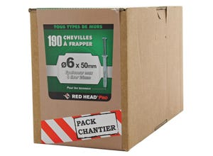 Chevilles FRAPEX M Diam6x50mm (x190)