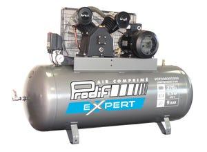 Compresseur d'air 270 L 5.5 Cv Tri bi-cylindre