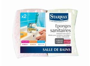 Eponges sanitaire (x2)