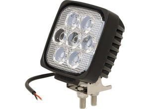Phare de travail carré 7 led - 35W - 2400 lumens