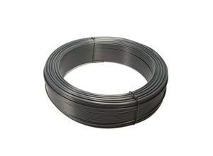 Fil de Tension Plastifié gris 2,40MM x 50M