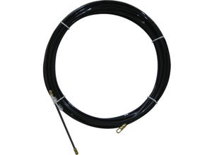 Tire fils nylon noir 20M