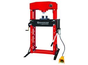 Presse d'atelier manuelle et pneumatique 50T