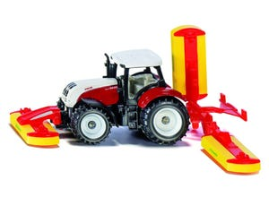 Tracteur Steryr avec faucheuse