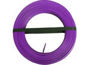 Câble H07 VU 1,5mm violet 100m