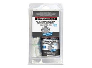 Kit réparation résine 250ml + tissu 1/4m2