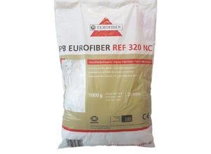 Fibres anti-fissuration 20mm béton sac 1kg EUROFIBRES