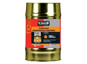 Traitement Charpentes - Poutres TX 202 - 25L