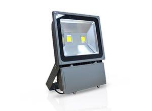 Projecteur LED gris COB 100W 6000°K IP65