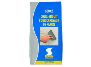 Colle-enduit carreaux plâtre Isocol S 5 kg