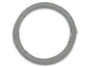Câble non gainé âme textile Ø2mm L.20m