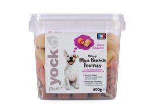 Plaisir Mix Biscuits Fourrés pour chien 400 g