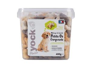 Plaisir Mix Os Croquants pour chien - 1 kg