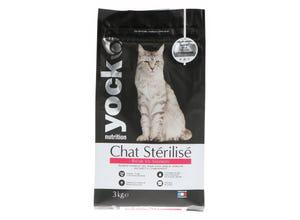 Croquettes Chat Nutrition Chat Stérilisé Saumon 3 Kg