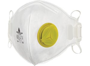 Demi-masques jetables FFP2 à valve x10