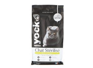Croquettes Chat nutrition stérilisé Poulet