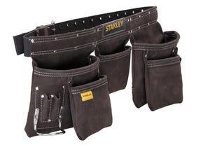 Porte outils cuir double ceinture