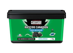 Raticide Canadien forte infestation 720 g