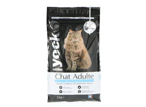 Croquettes Chat Nutrition Adulte Saumon 3 Kg