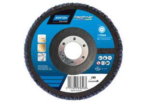 Disque à lamelles fibre tech. norzon 125x22 G40 NORTON