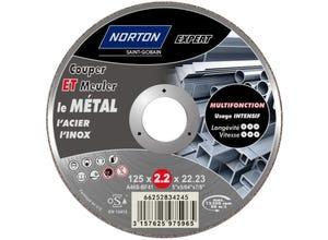 Disque à tronçonner/ébarber le métal 125x2,2x22,2