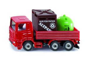 Camion recyclage