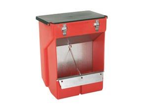 Trémie pour rongeur 2 compartiments PVC 3L
