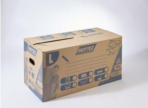 Carton 72 litres fermeture automatique