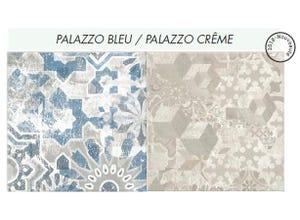 Crédence Palazzo Bleu/Crème 300 X 60 cm Ép : 9 mm