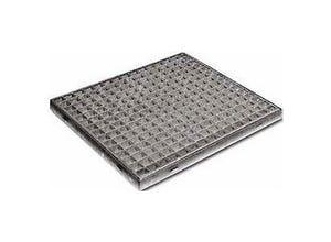 Grille caillebotis carrée 600x600 M33x33
