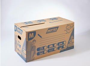Carton 54 litres fermeture automatique