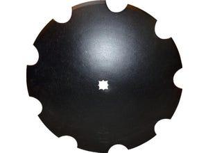 Disque crénelé 610x5,8 trou carré 36 ou 41