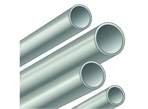Tube T1 galva bouts lisses 48,3x2,90 mm longueur 6,4 m