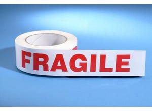 """Rouleau adhésif """"FRAGILE"""" 5 x 66 cm"""