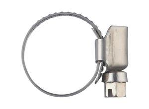 Collier de serrage inox larg.12 mm Ø16 à 25 (x2)
