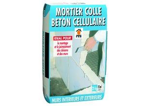 Mortier-colle béton cellulaire
