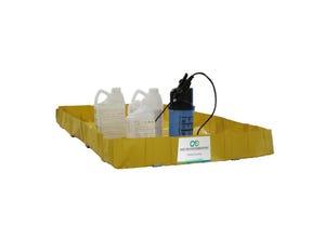 Bassin pour pulvérisation à dos 1x1x0,15m