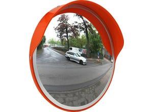 Miroir de sécurité extérieur en verre Ø 330mm