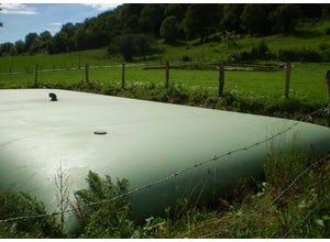Citerne souple à effluents agricoles 80m3