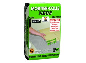 Mortier-colle neuf 25kg