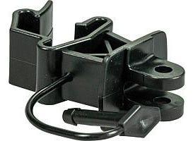 Isolateur standard noir à cheville pour piquet