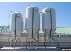 Option échelle pour silo Gatine 22m3