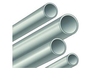 Tube T1 galva bouts lisses 21,3x2,35 mm longueur 6,4 m