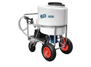 Chariot à lait 170L avec pompe